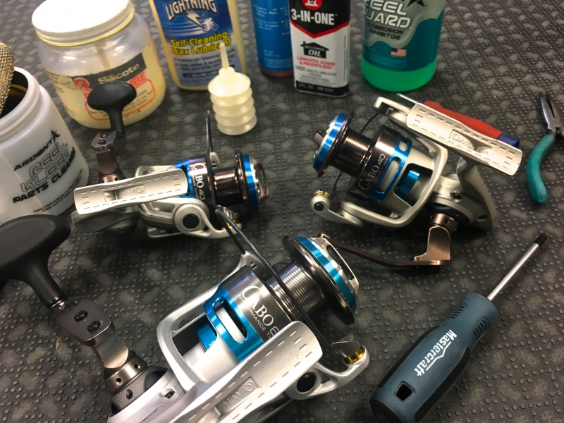 Maintenance And Cleaning Of Fishing Reels I Type Cycling