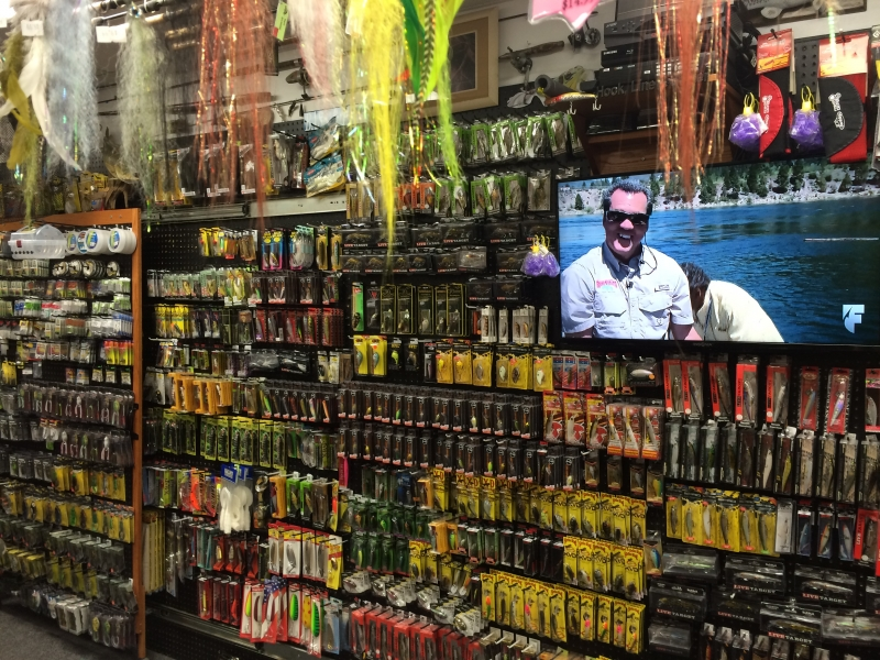 HLS Bass and Walleye Lure Selection.